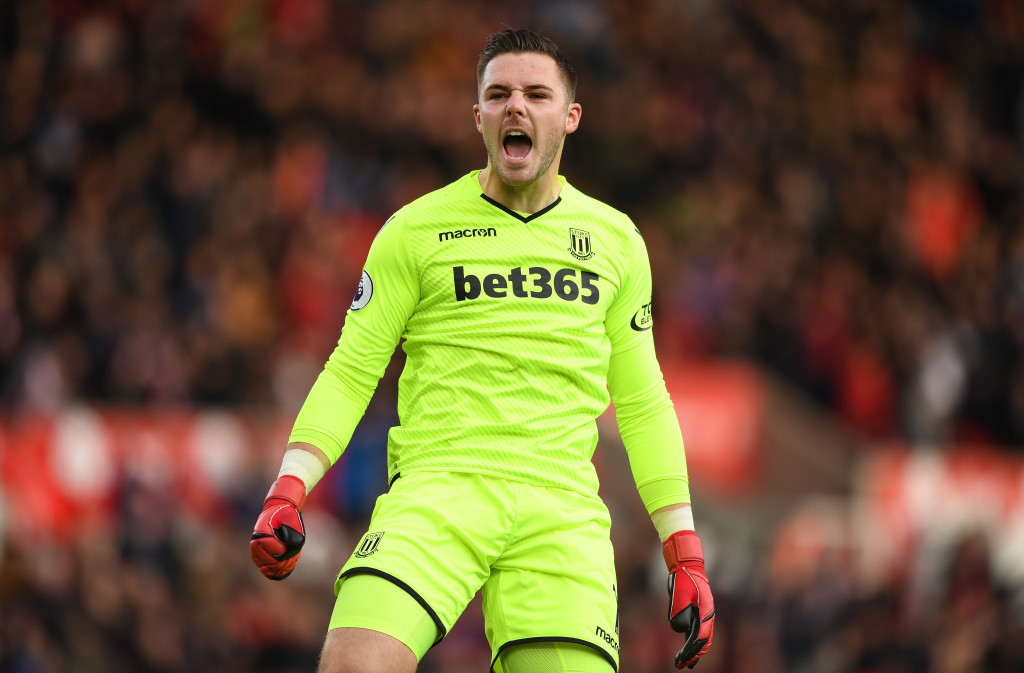 Liverpool could rescue Butland from the Championship.