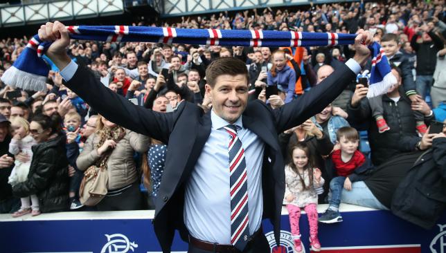 Gerrard has been leading a Rangers revival.