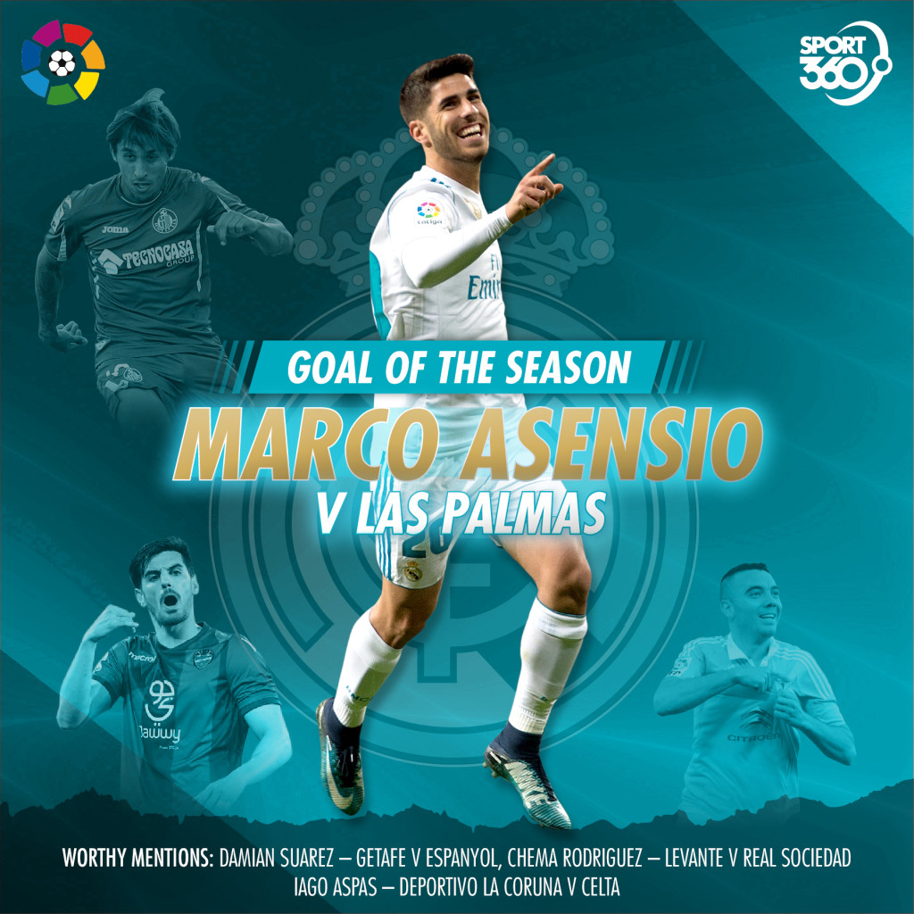 2105 laliga goal of season asensio
