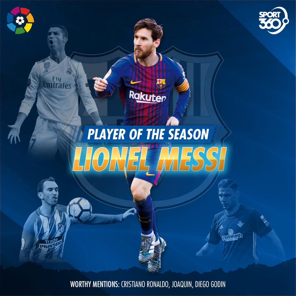 2105 laliga player of season