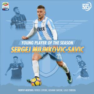 2105 seriea young player of season