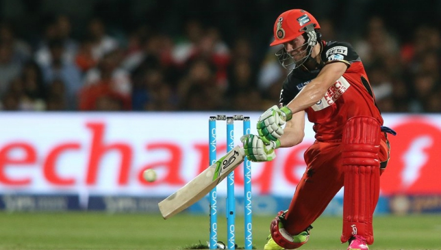 ABD remains happy with his personal form.