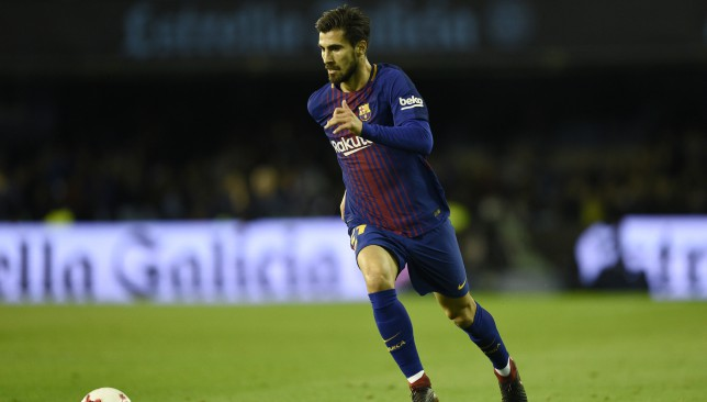 Andre Gomes is expected to leave Barcelona.