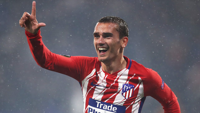 Clinical: Antoine Griezmann grabbed two goals.