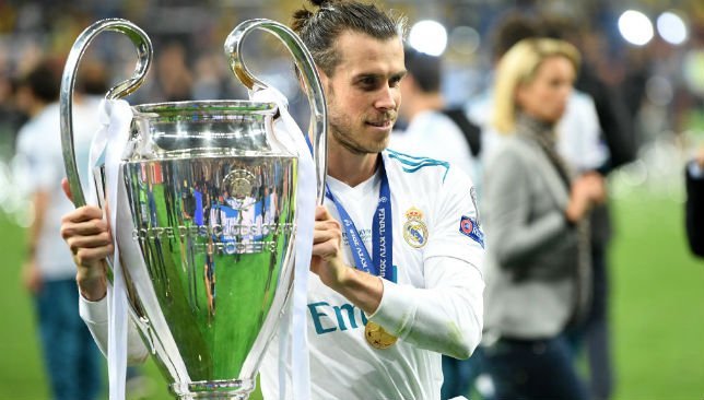 Bale of Real Madrid