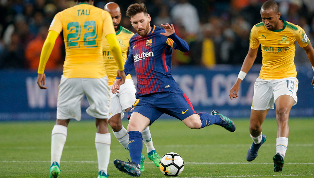 Barcelona beat South African champions Mamelodi Sundowns in friendly match