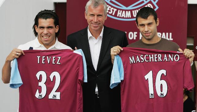 Double act: Carlos Tevez and Javier Mascherano
