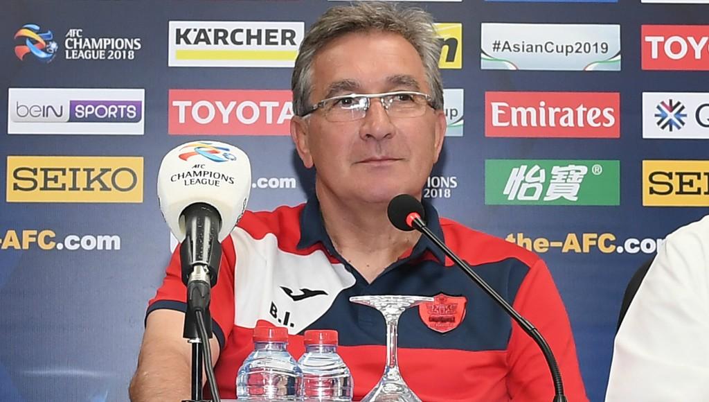 Persepolis coach Branko Ivankovic.