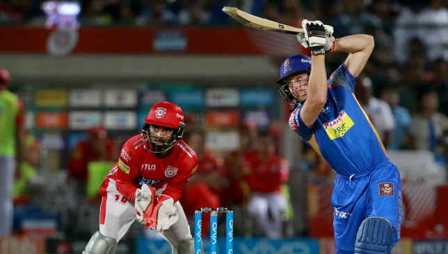 Buttler's 82 accounted for more than half the team's runs. Image: BCCI.