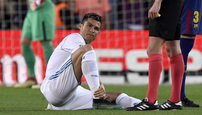 Updates on Cristiano Ronaldo's injury