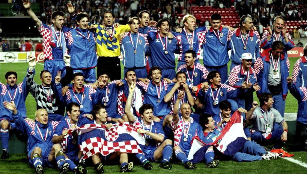 Croatia sensationally finished third in 1998.