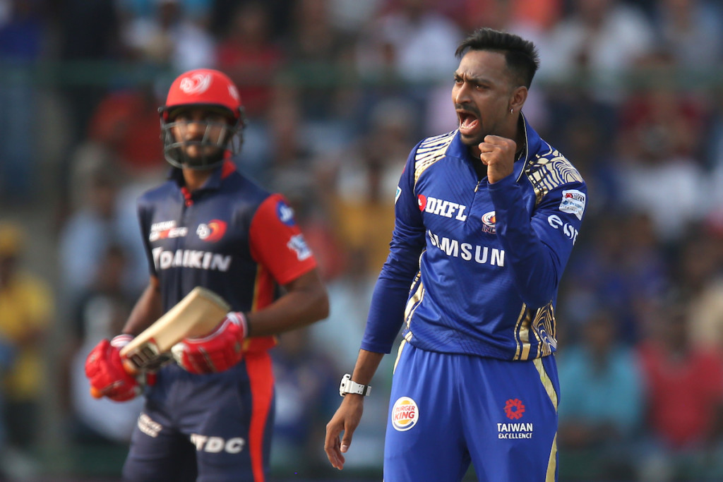 Krunal put in some handy performances for MI. Image - BCCI.