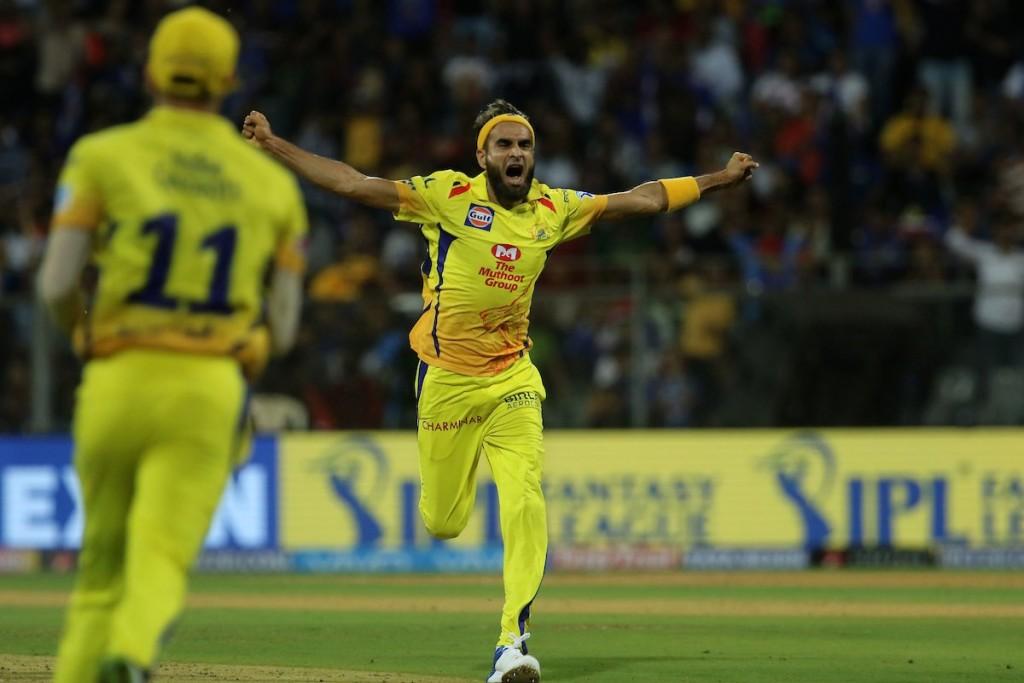 Age is not on Tahir's side. Image - IPL/Twitter.