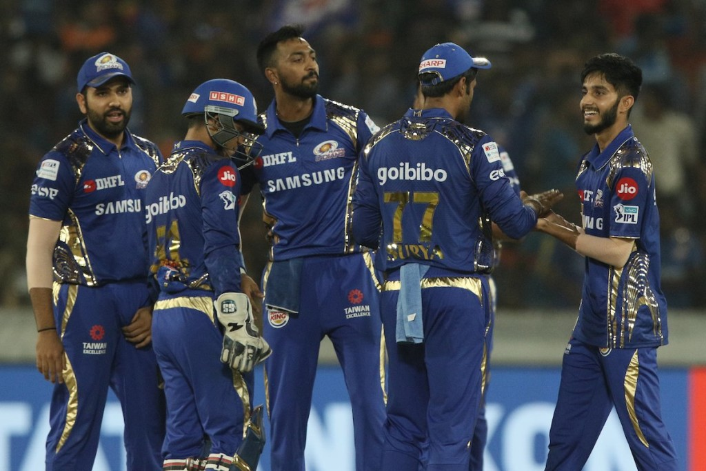 Markande (R) has been on of the finds of the IPL. Image - IPL/Twitter.