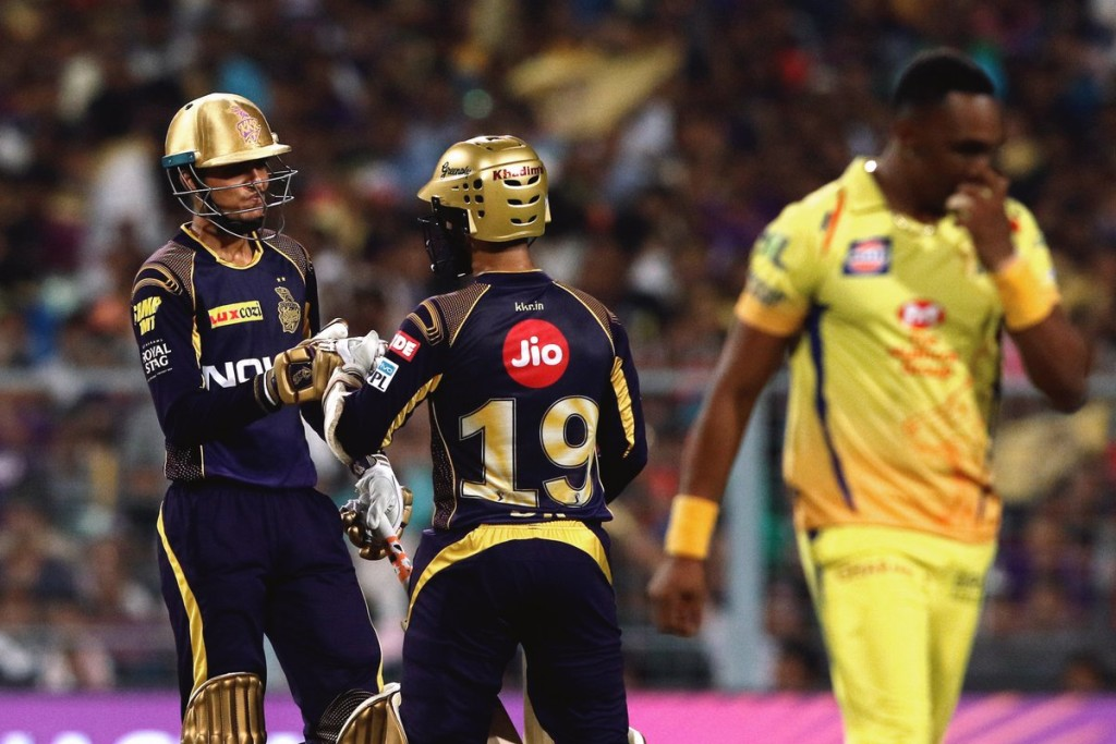Gill formed a terrific partnership with Karthik in the win. Image - KKR