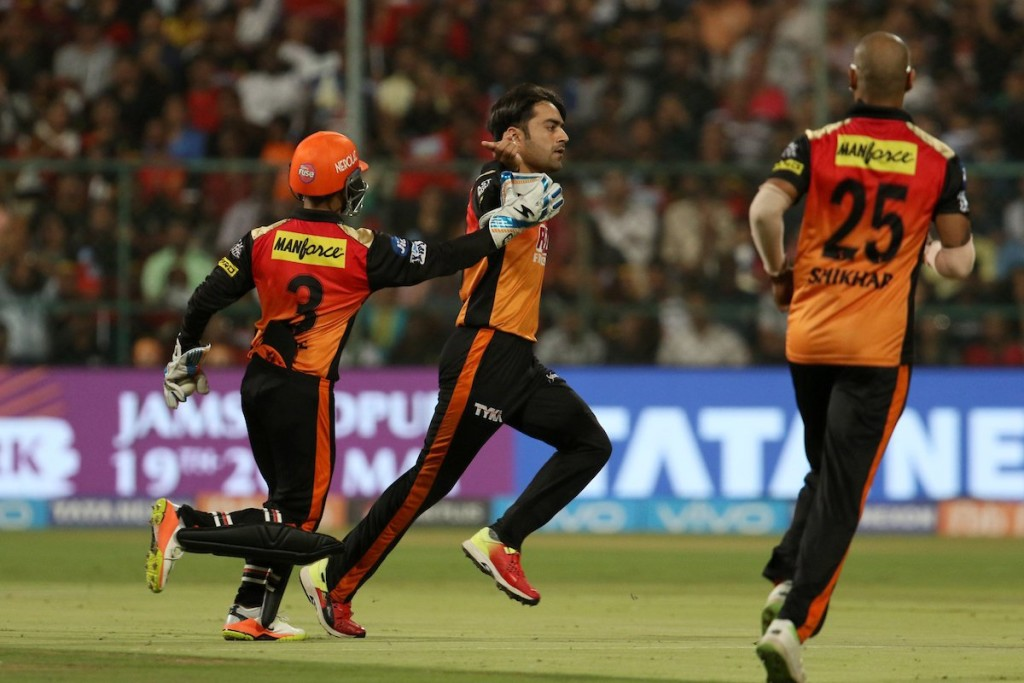 Rashid was the standout spinner of the IPL. Image - IPL/Twitter.