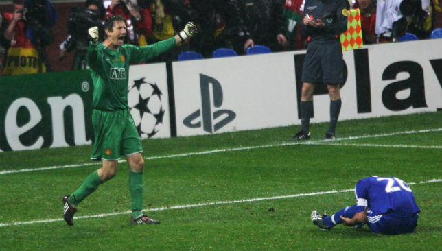 Van Der Sar was the hero in Moscow.