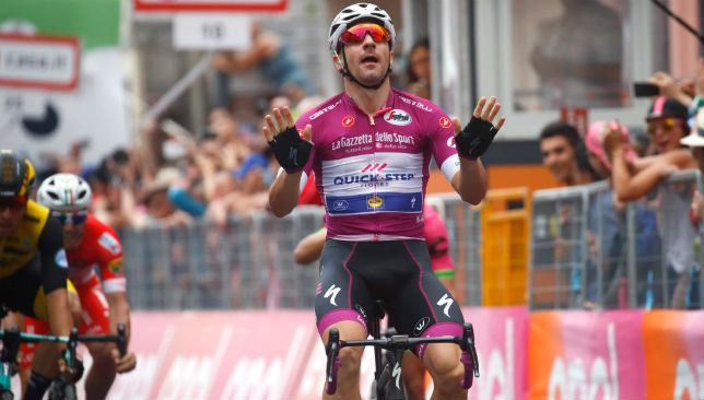 Viviani won four stages at this year's Giro.