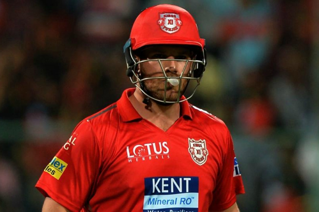 Finch has simply not arrived. Image - IPL/Twitter.