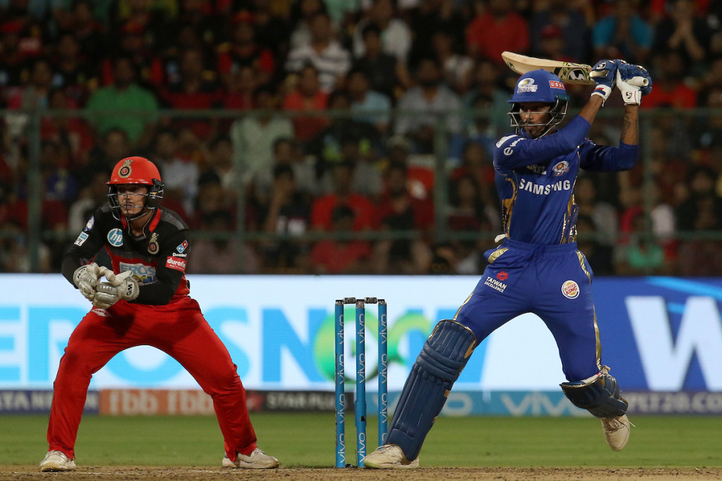 Pandya had an outstanding game against RCB. Image - BCCI.