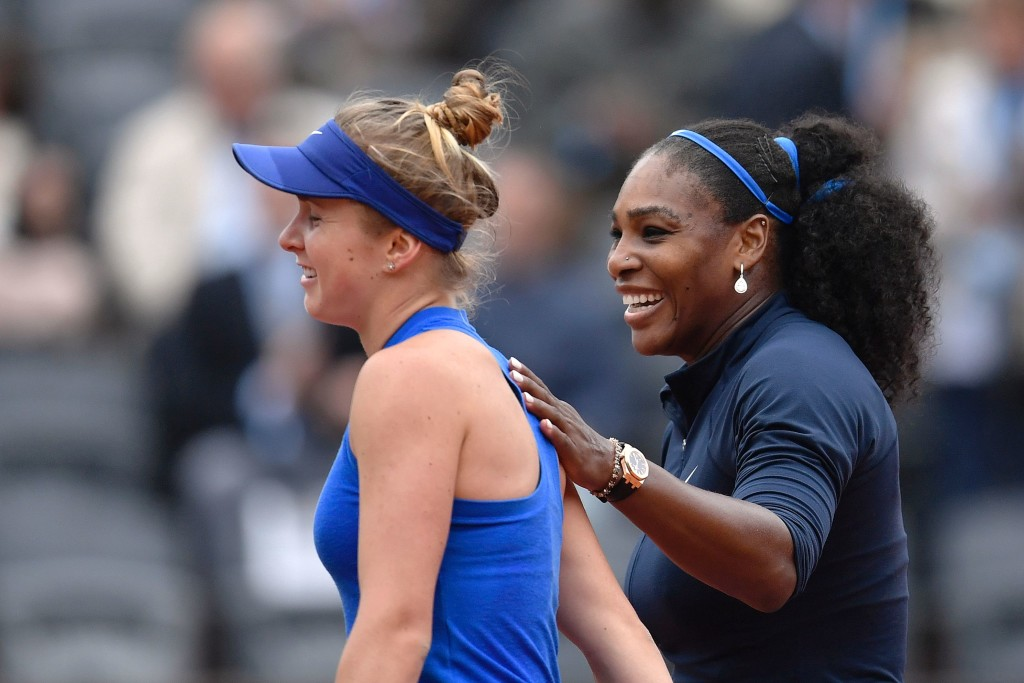 Serena Williams wins again at French Open, sets up Sharapova showdown