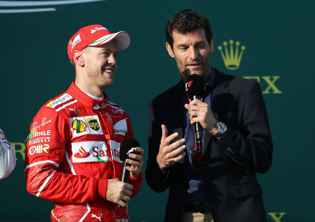 Webber has rebuffed Vettel's claims that he would welcome Hamilton