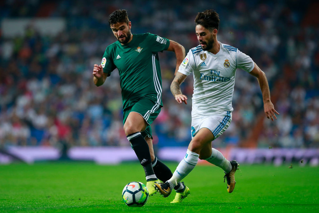 Real Betis host Real Madrid at the Villamarin