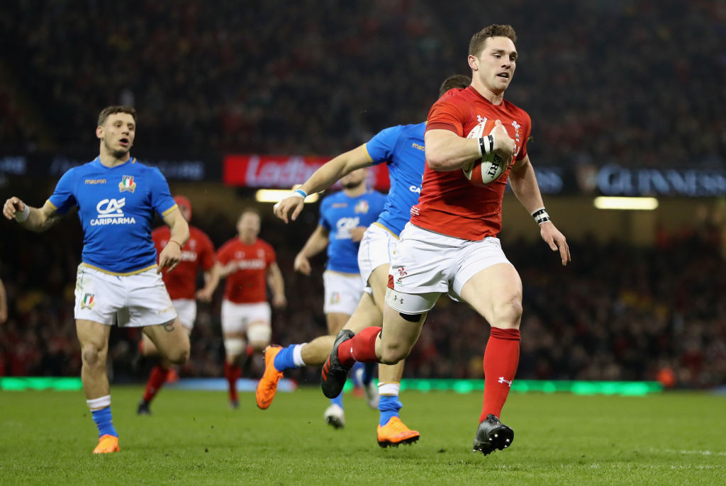 Wales have scored 199 points in their last four games against Italy.
