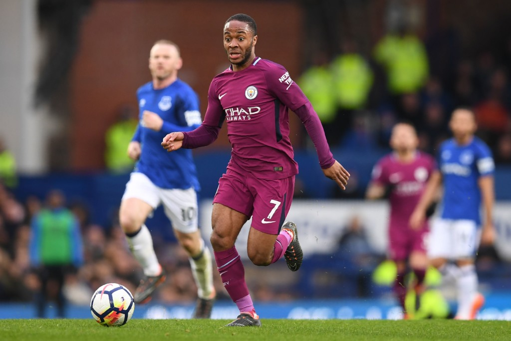 Raheem Sterling had a superb season for Manchester City, scoring 18 goals.