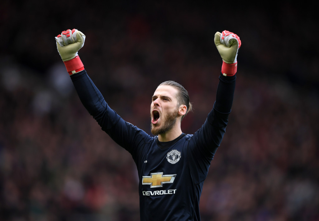 With more clean sheets than any other goalkeeper, David De Gea was unbeatable at times.