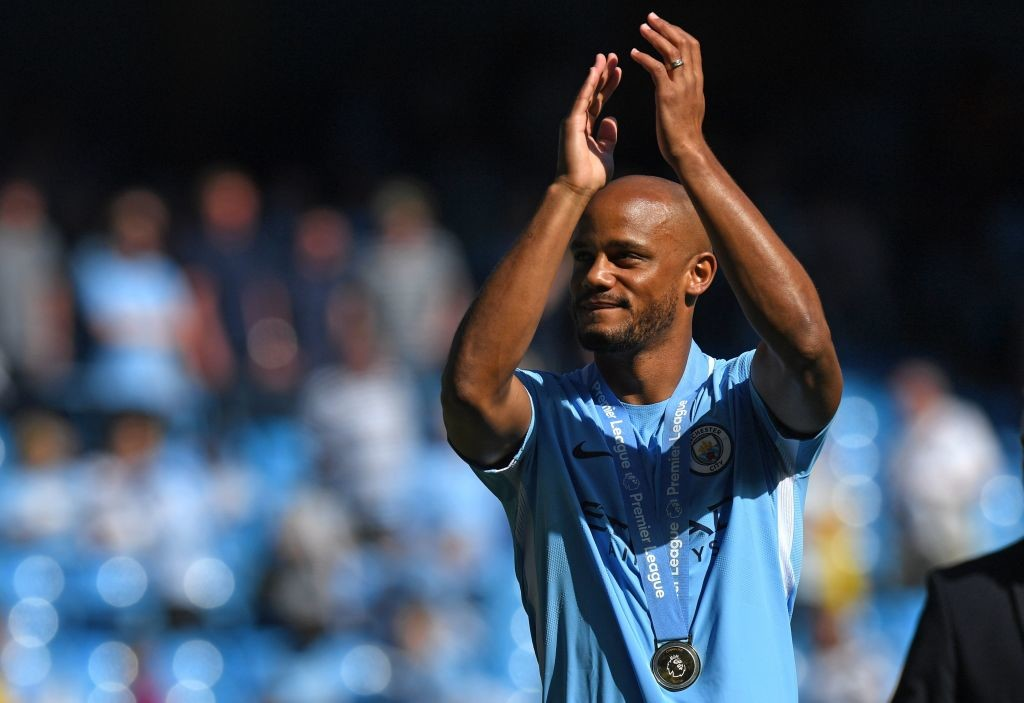 Kompany had missed the clash against Huddersfield due to an injury.