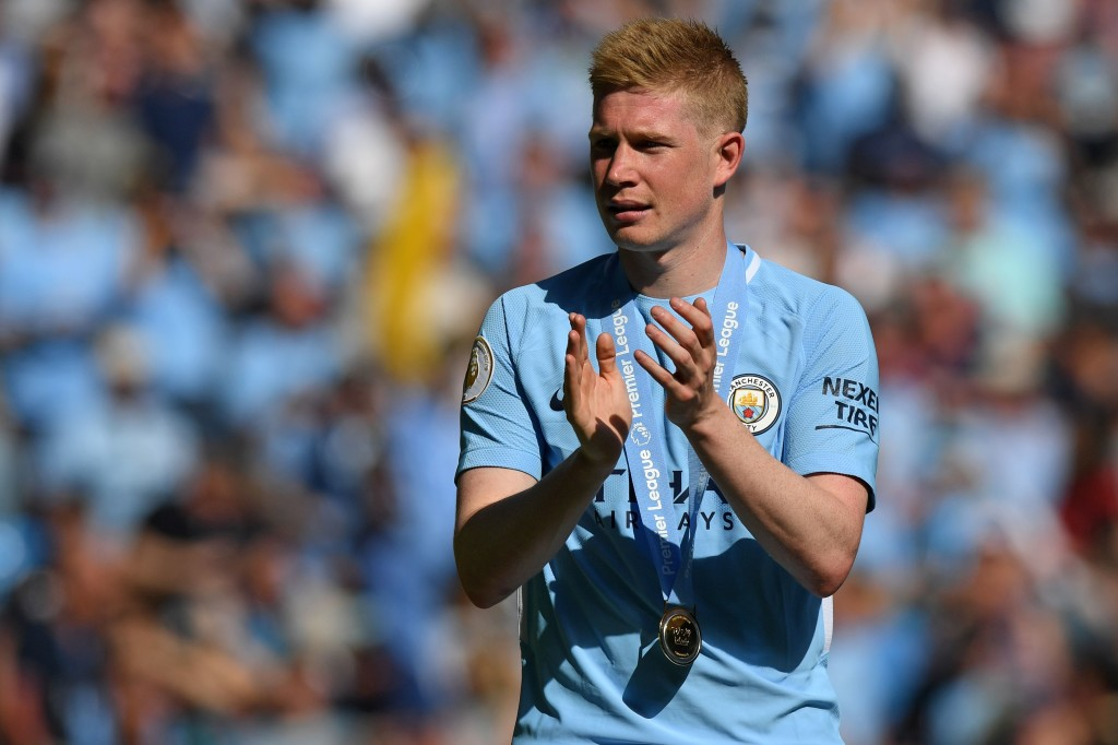 In any other Premier League season, Kevin De Bruyne would have been the standout player by a distance.