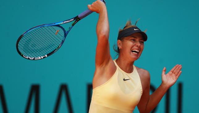 81f01b55694e Tennis news  Maria Sharapova snaps four-match losing streak