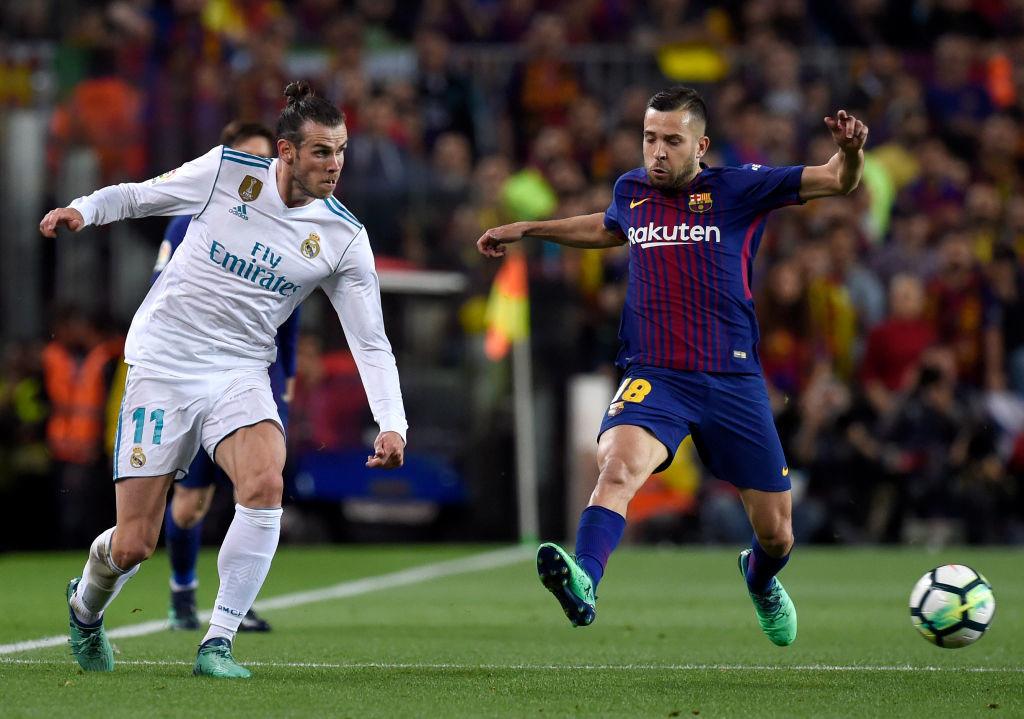 Double agent: Gareth Bale (l)