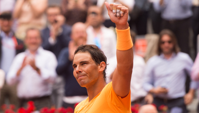 Rafael Nadal breaks John McEnroe's 34-year-old record