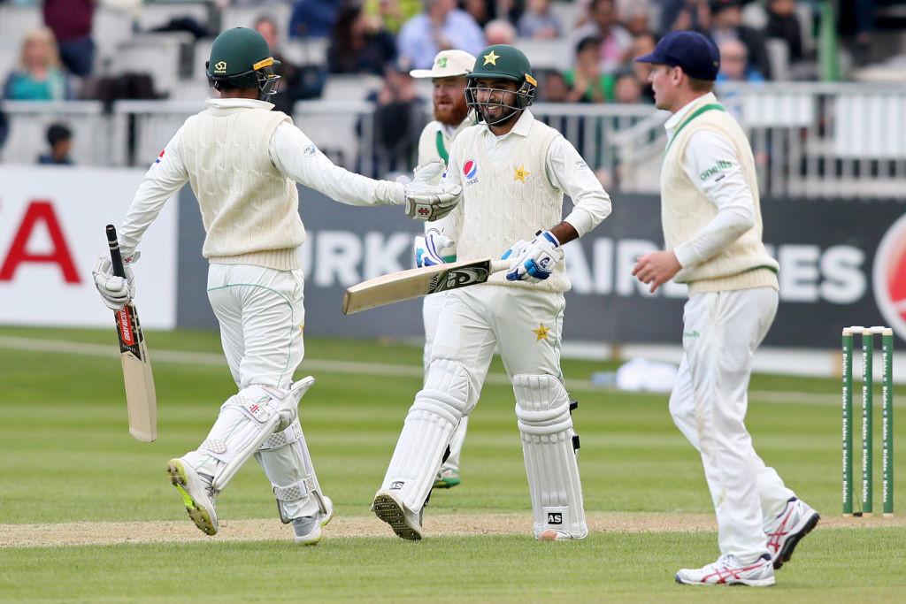 Faheem Ashraf registered a half-century on his Test debut.