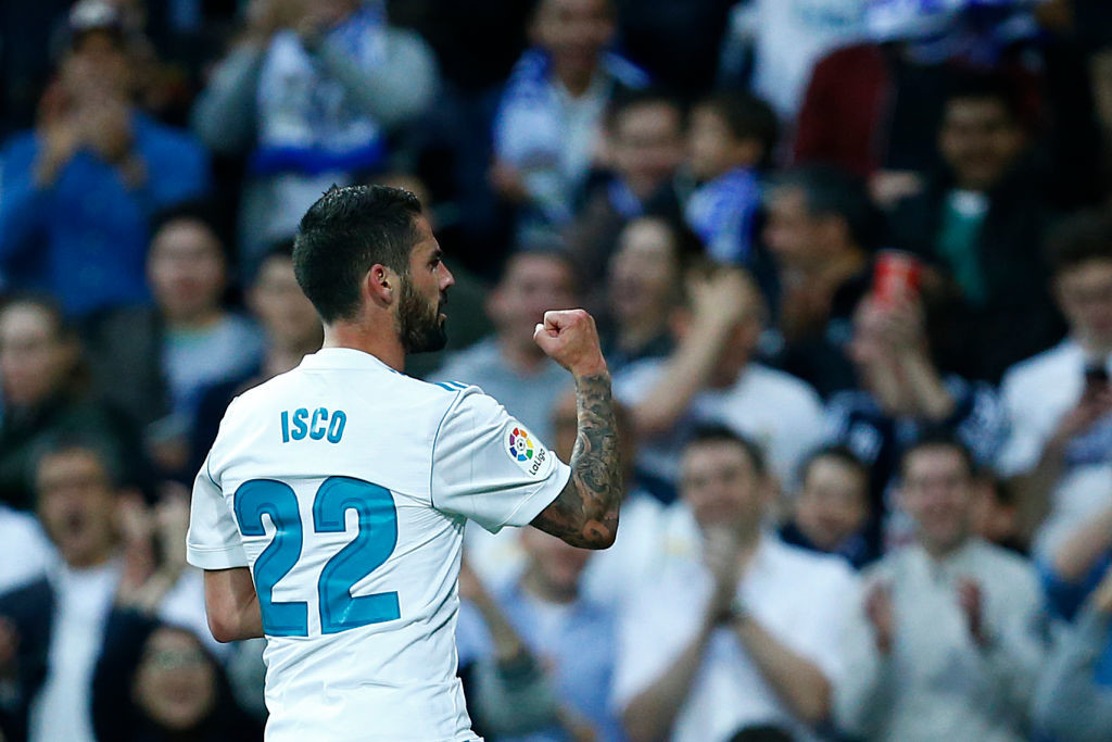 Isco can be a Real creative force.