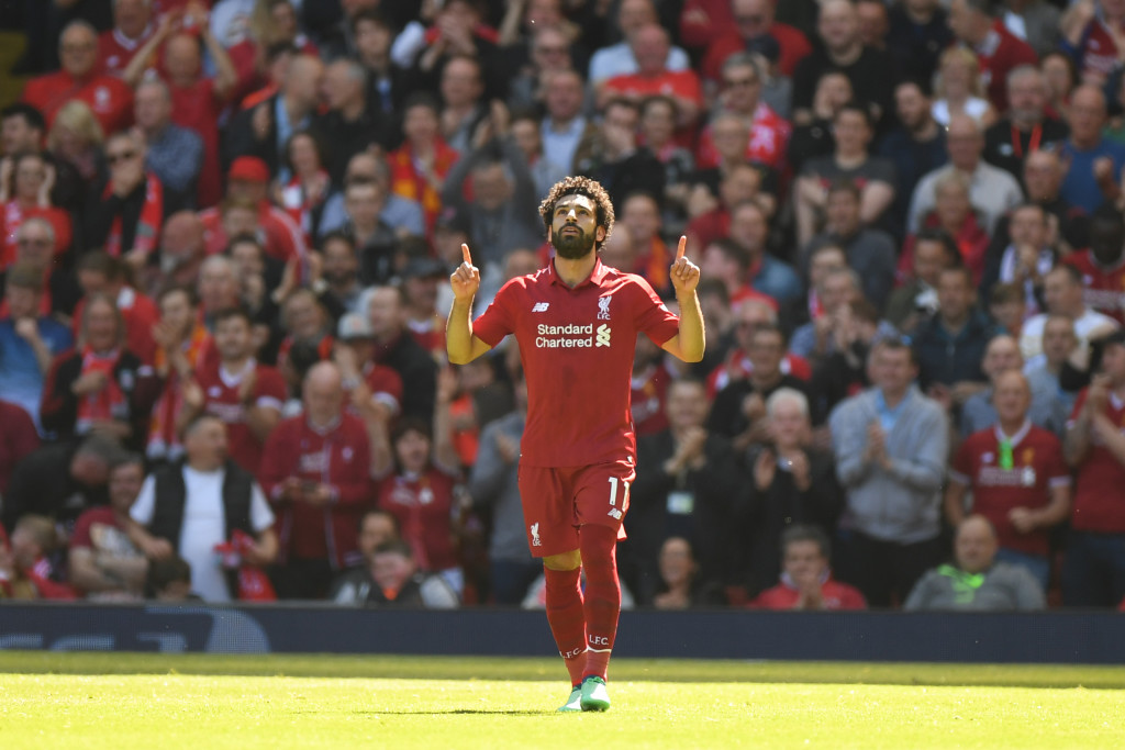 Mohamed Salah was a revelation for Liverpool in his debut season at Anfield.