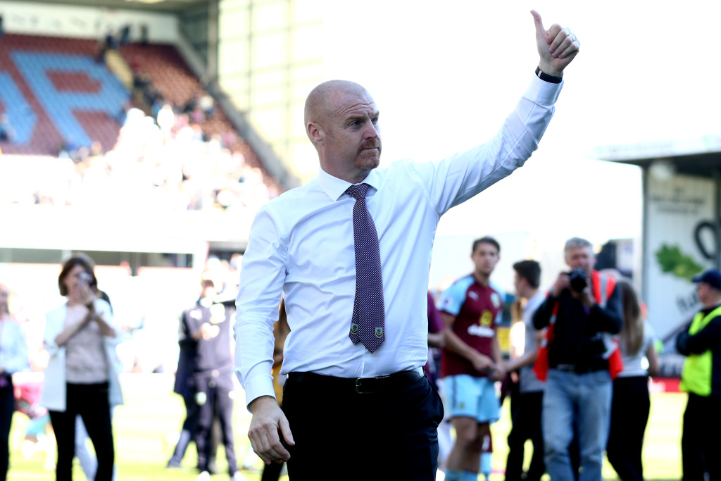 Sean Dyche did a superb job with Burnley.