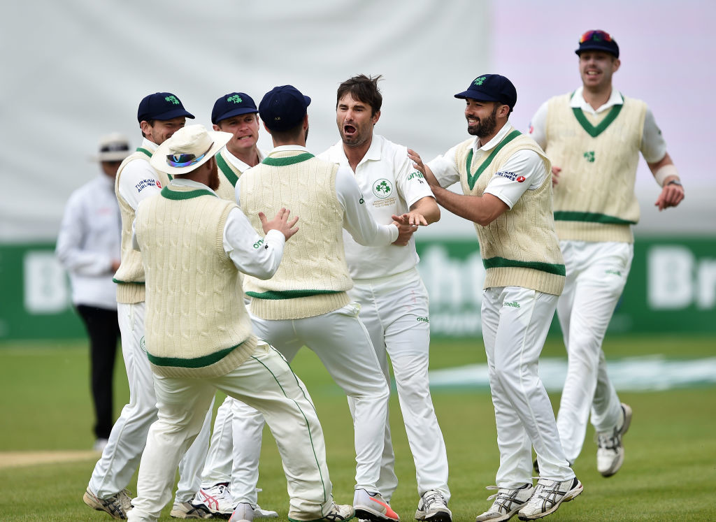 Murtagh gave Ireland a flying start with the ball on the final day.