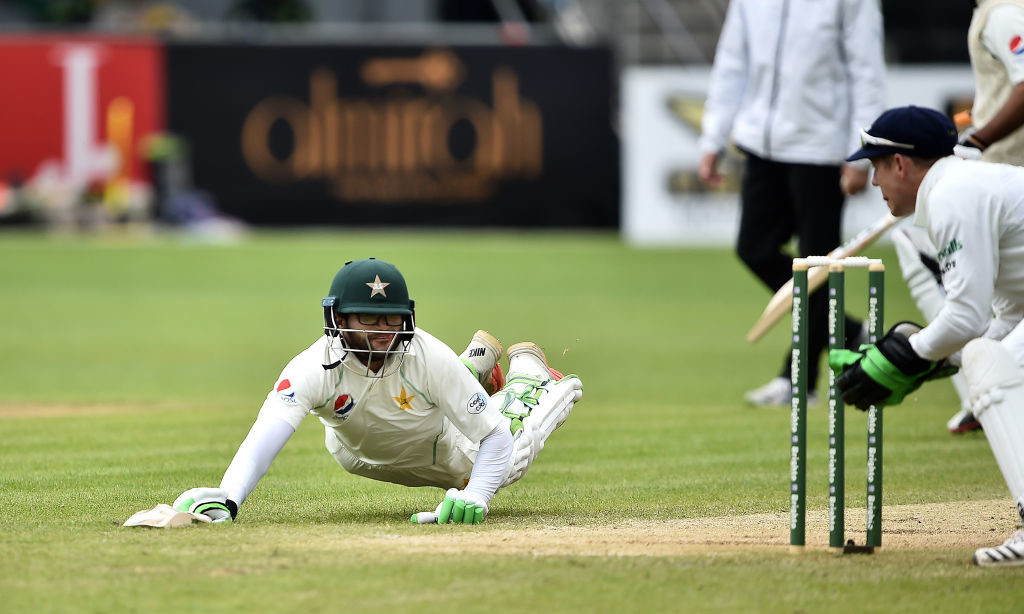 Imam-ul-Haw made it a debut Test to remember.