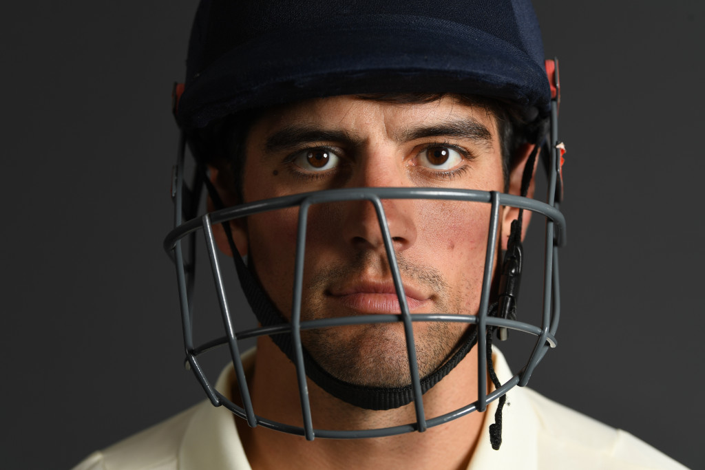 LONDON, ENGLAND - MAY 22: Alastair Cook of England poses for a portrait at Lord's Cricket Ground on May 22, 2018 in London, England. (Photo by Gareth Copley/Getty Images)