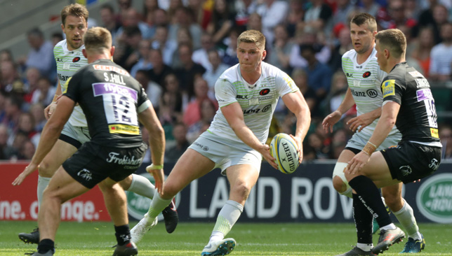Owen Farrell will be a pivotal player for the champions again.
