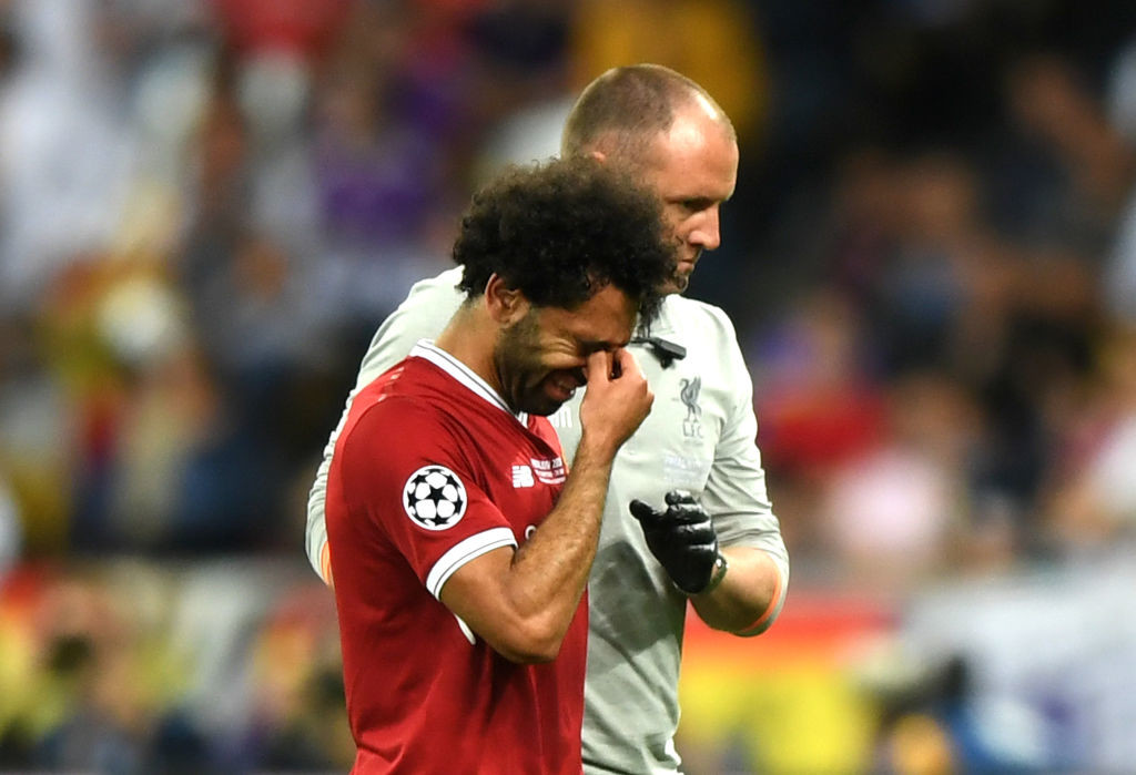 Mohamed Salah's injury turned the game.