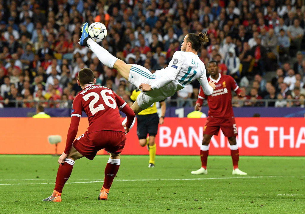 Incredi-Bale: Gareth Bale makes the difference.
