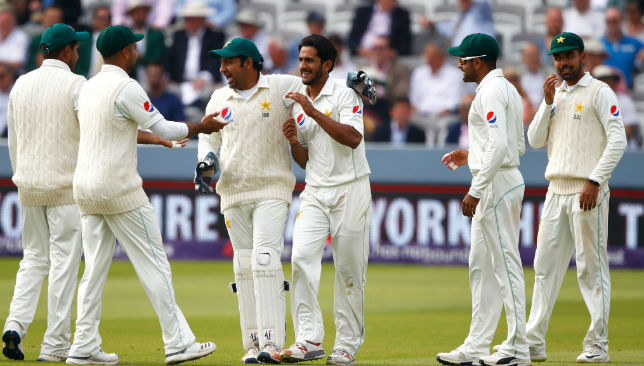 Pakistan's Hasan Ali took four wickets against England.
