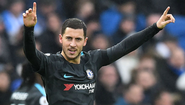 Hazard celebrates