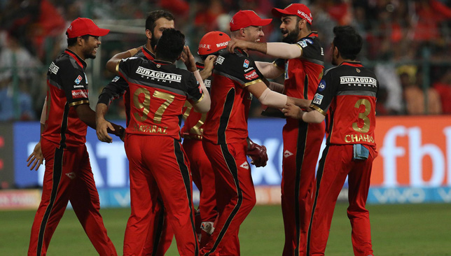 Bleeding red: Royal Challengers Bangalore