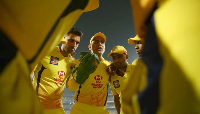 Dhoni and CSK are aiming for a third IPL title. Image - IPL/Twitter.