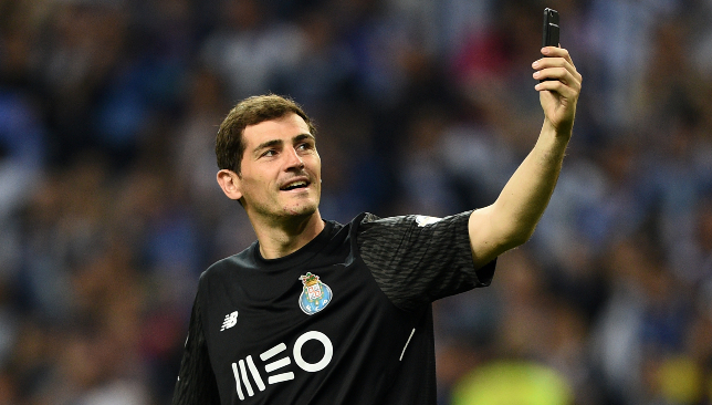 Goalkeeping legend: Iker Casillas.